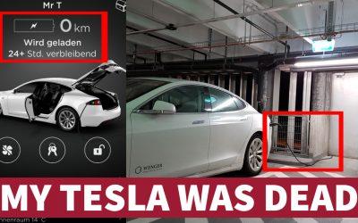 My Tesla was dead
