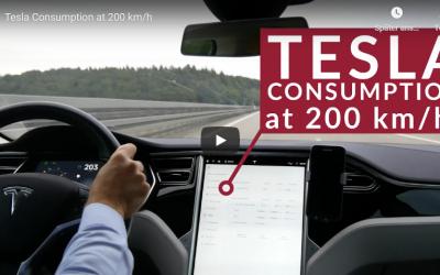 Tesla Consumption at 200 km/h