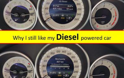 Why I still like my Diesel powered car.