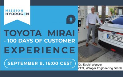 Toyota Mirai – 100 days of customer experience