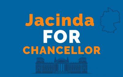 Jacinda for Chancellor!